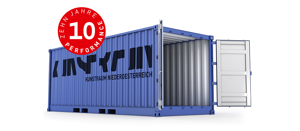 10 Jahre Performance im Kunstraum-Container © shutterstock, Kunstraum Niederoesterreich, 10 Jahre