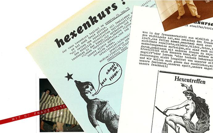 Thema «Scene aus einem Comic», Hexenkurs, [1979] (Foto: Urheberschaft unbekannt)