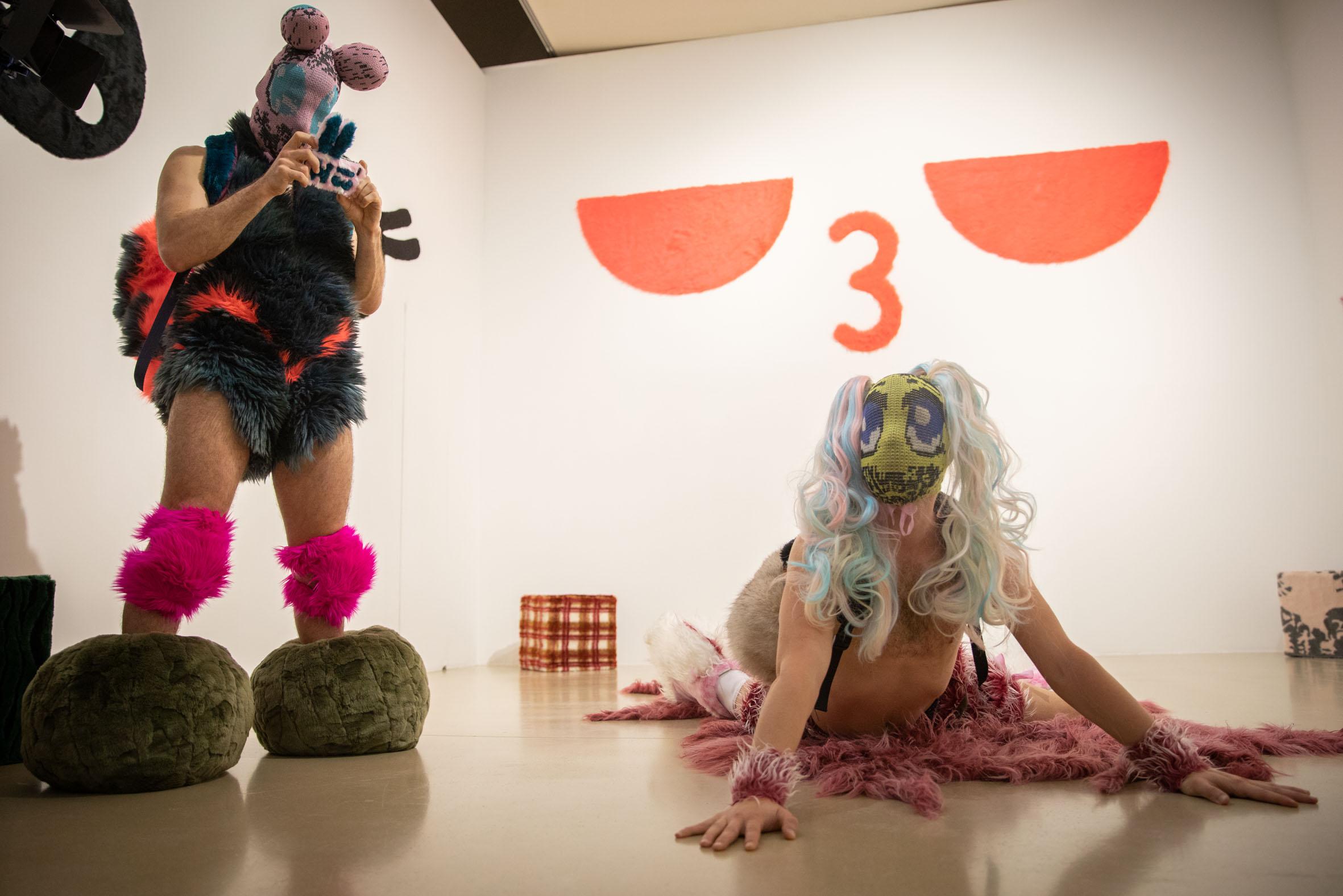 """Gewinner - Performance H13 2018 """"Furrious"""" , Otto Krause und Milan Loviška"""
