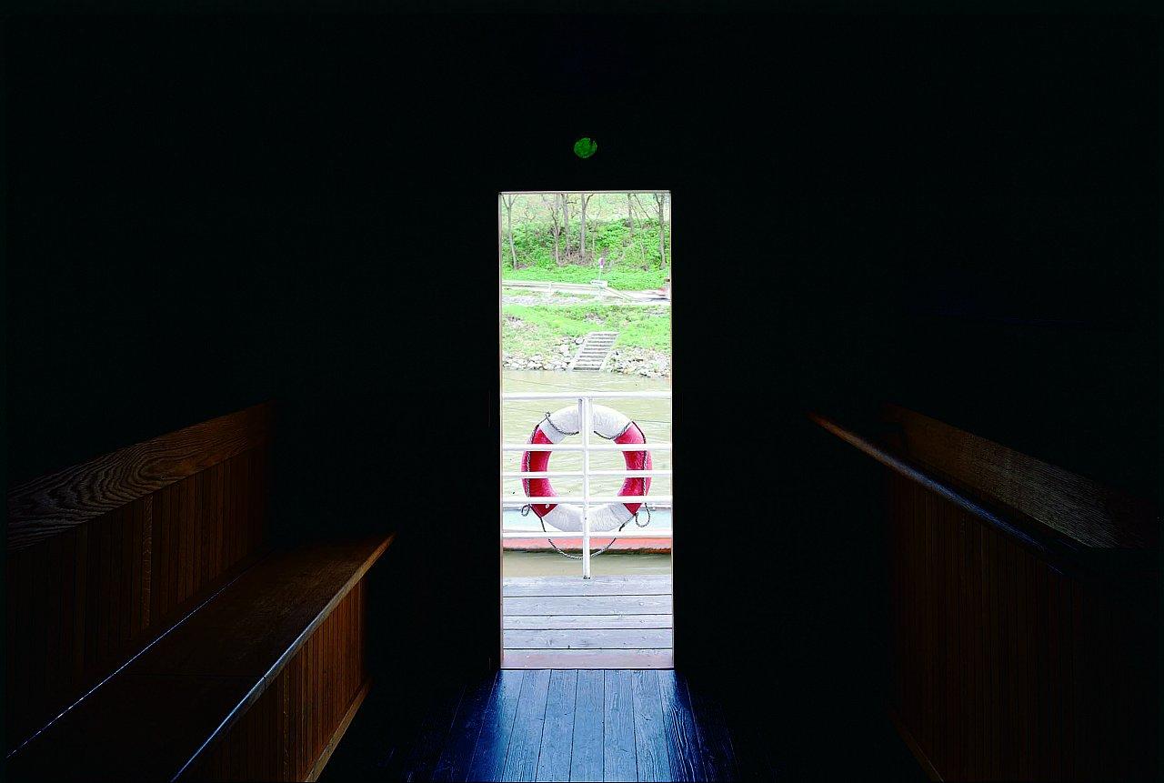 © Olafur Eliasson, Camera Obscura für die Donau,Spitz-Arnsdorf, 2004, Foto: Margeritha Spiluttini