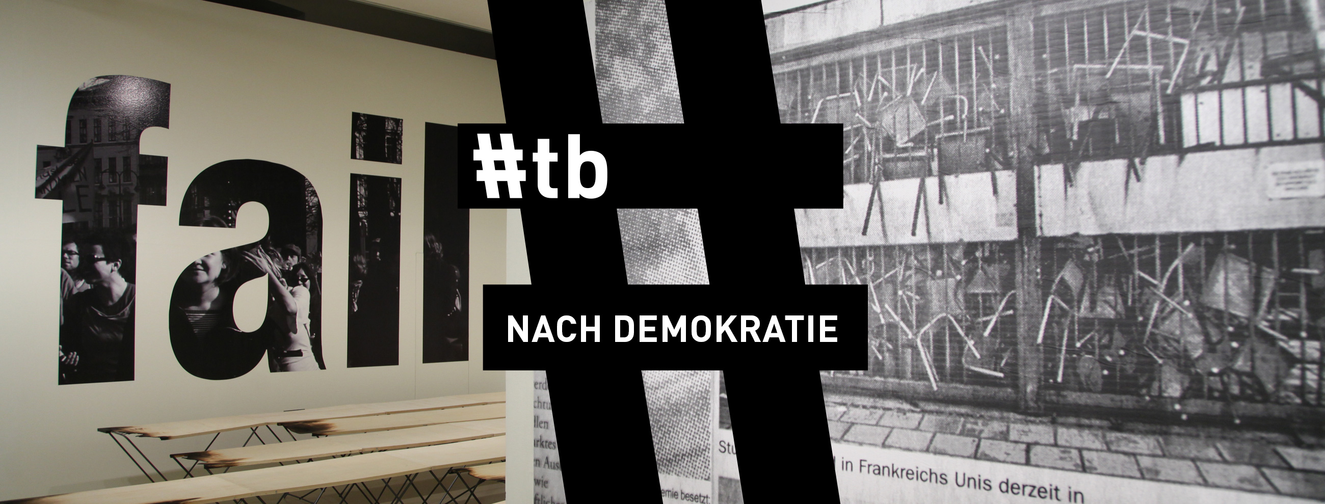 #tb: Nach Demokratie © photo: eSeL.at, graphic design: Andrea Lehsiak