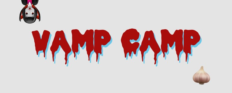 Vamp Camp, Grafikdesign: Andrea Lehsiak