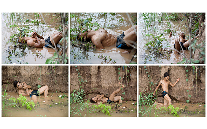 © Khvay Samnang with Nget Rady, Where is my land_, 2014, Digital C-Print, Images courtesy the artist and SA SA BASSAC