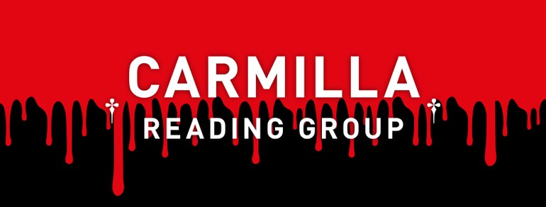 Carmilla // Reading Group, graphic design: (c) Andrea Lehsiak, 2020