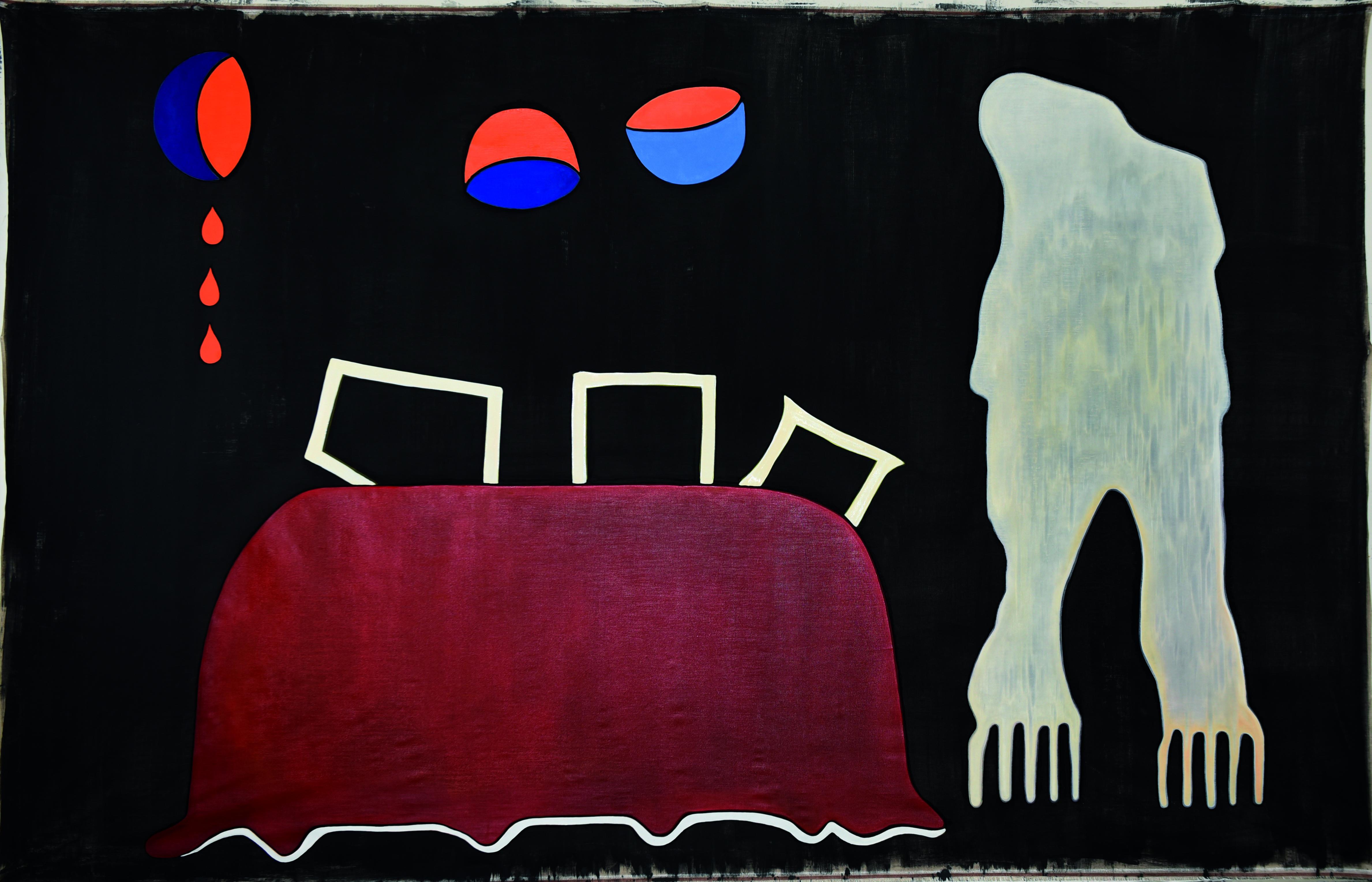 Inka ter Haar, The Garden, Öl auf Leinen, 2019