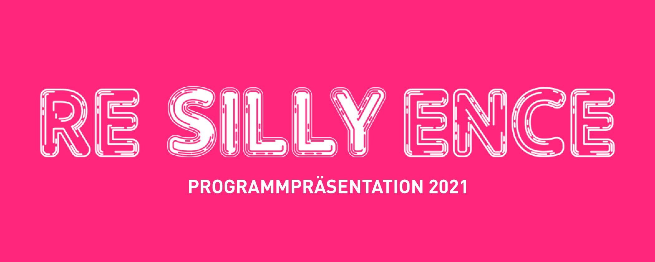 re_silly_ence © Andrea Lehsiak © re_silly_ence, graphic design: Andrea Lehsiak